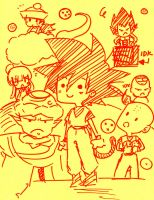 Dragonball Conspiracy by WootI-EAT-BABIES