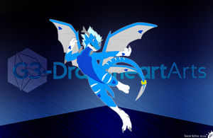 NeoPrime Auralino (flatcolor) | Drakostyle by G3Drakoheart-Arts