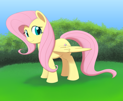 A Fluttershy by DormantFlame