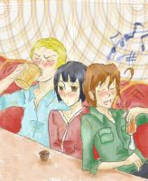 Axis in the Bar by Elyonlover