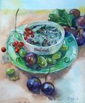 tea and grape by DariaGALLERY