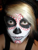 Mexican skull by black-diamond-666