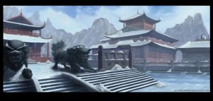 snow temple refined by denzal