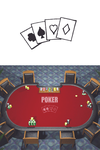 Poker Table Pictograph by INF3CT3D-D3M0N