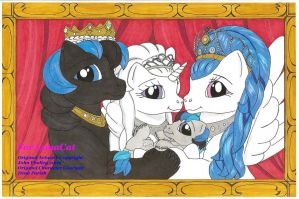 Ponyland Royal Family by BlueHawk82
