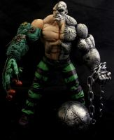 Marvel Legends Absorbing Man Custom Action Figure by RedRebelCustoms