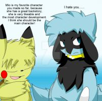 I Think Mio The Eevee Should Be The Main Character by Zander-The-Artist