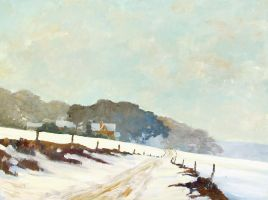 Upland Road in Winter by litka
