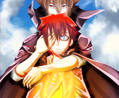 KHR Xerox Inception: Twin skies of the Vongola by Kazushin14