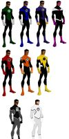 JLA Doom/ Young Justice Hal Jordan Spectrum by ps2105