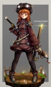 Archaeologist by FranLoL