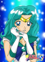 58. Sailor Neptune by YuniNaoki