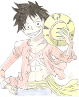 Luffy - One Piece by AiriHasegawa
