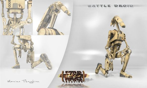 Battle Droid by NeptuneMOD