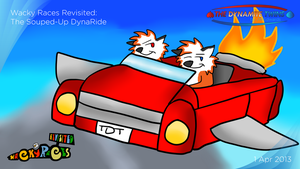 Wacky Races Revisited: The Souped-Up DynaRide by JWthaMajestic