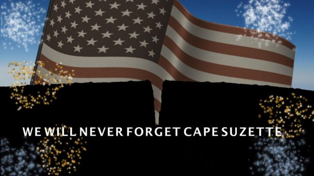 We Will Never Forget Cape Suzette by PUFFINSTUDIOS