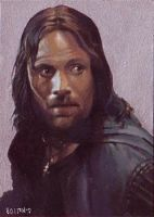 Aragorn card 271 by charles-hall