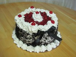 Black Forest Cake by Kafae-Latte