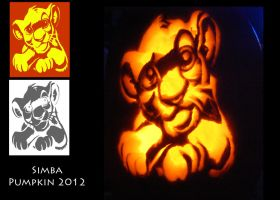 Simba Pumpkin Complete1 by Silverkey101