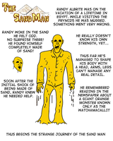 Sand Man by unclefreak