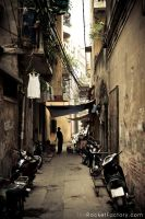 Down an Alley by frankrizzo