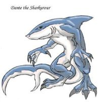 Dante The Sharkurour by rampagedm