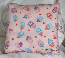 Cupcake Cushion by HonestyS2