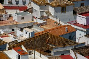 Over the Rooftops II by DeviantTeddine
