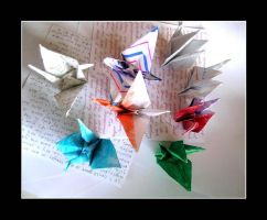 One Thousand Paper Cranes by Spellings