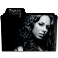 Alicia Keys Folder Icon 1 by gterritory