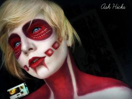 Female Titan Makeup by IrishFiretruck
