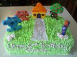 Blues Clues Birthday Cake by missblissbakery