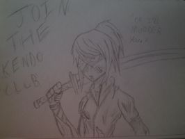 JOIN THE KENDO CLUB OR SHE WILL MURDER YOU! by waazaa
