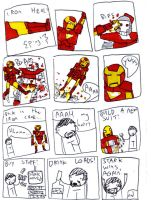 iron man: MAN OF IRON pg4 by MANeatingCLOTHES