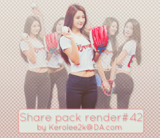 Share pack render #42 Seolhyun by KeroLee2k