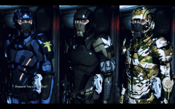 Kaidan's Armour Sets (Alliance Warpack) by survivor686