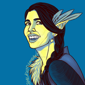 Lady Vex'halia by Hawkesblood