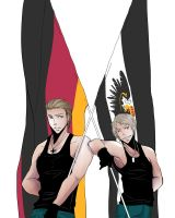 APH:germany prussia brothers by shinma648