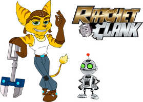 Ratchet and Clank by The-Manga-Goddess