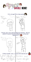 double meme with the hannah by Thaxen