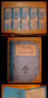 Blue Book Birthday Cards by Jetyra-Luck