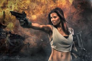 Tactical Girl 2 by straight8photo