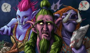 Trolls like Nelfs by VilePero