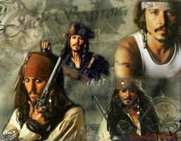 Jack Sparrow Collage by Chocolatemilk123