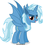 Trixie-Bat by Vector-Brony
