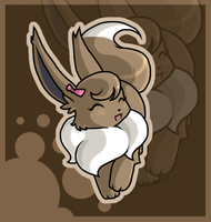 Chocolate Eevee by Jiayi