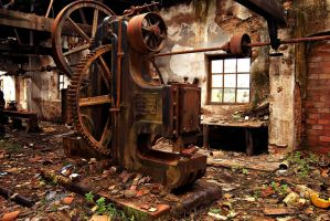 Machinery by JulietGarcia