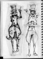 hatter designs by PointyJake
