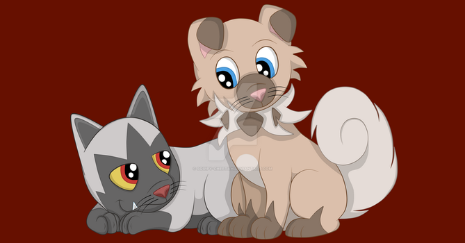 Puppy Pals (Christmas Gift 2) by Squipy-Cheetah