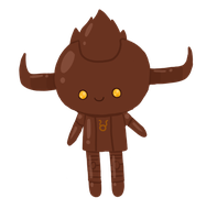 Chocostuck: Choco-Tavros by to-much-a-thing